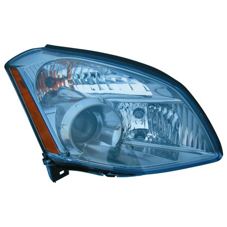 99 Nissan Maxima Euro Headlights - Fits 2007-2008 Nissan Maxima Passenger Right Side Headlight Lamp Assembly