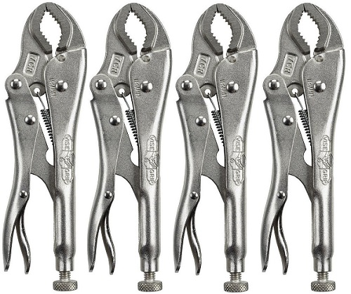 Irwin Vise Grip 7CR (4 Pack) Original Fast Release Locking Pliers by Irwin Industrial