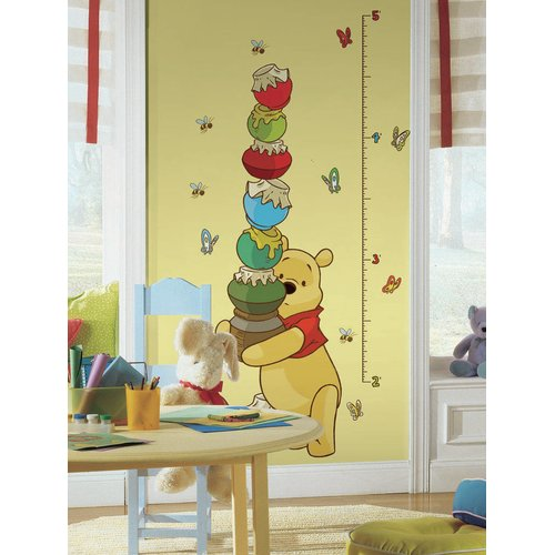 Wallhogs Disney Pooh Growth Chart Wall Decal