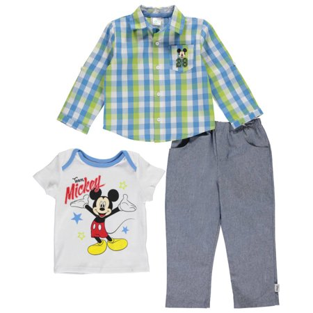 Walmart Baby Boy Clothes Best Mickey Mouse Baby Boys' Team Mickey 60Piece Outfit Walmart
