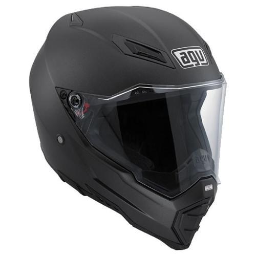 AGV AX-8 EVO DS Naked Dual Sport Helmet Matte Black