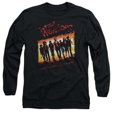 The Warriors Nyc Gang Thriller Action Movie One Gang Adult Long Sleeve