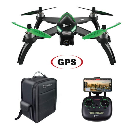Contixo F20 RC Remote App Controlled Quadcopter Drone | 1080p HD WiFi Camera, Follow Me, Auto Hover, Altitude Hold, GPS, 1-Key Takeoff & Landing, Auto Return +Free Custom Backpack ($50