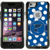 St Louis Blues Polka Dots Design on OtterBox Commuter Series Case for Apple iPhone 6 Are you a fan of the St Louis Blues? Get this official NHL design on your Coveroo case. This design is officially licensed artwork approved by the NHL. The design is printed using the HighColor process. It is not a sticker or skin. Coveroo cases are hand-customized by their team in San Francisco, California. NHL and the NHL Shield are registered trademarks of the National Hockey League. All NHL logos and marks and NHL team logos and marks depicted herein are the property of the NHL and the respective teams and may not be reproduced without the prior written consent of NHL Enterprises, L P NHL 2011 All Rights Reserved.
