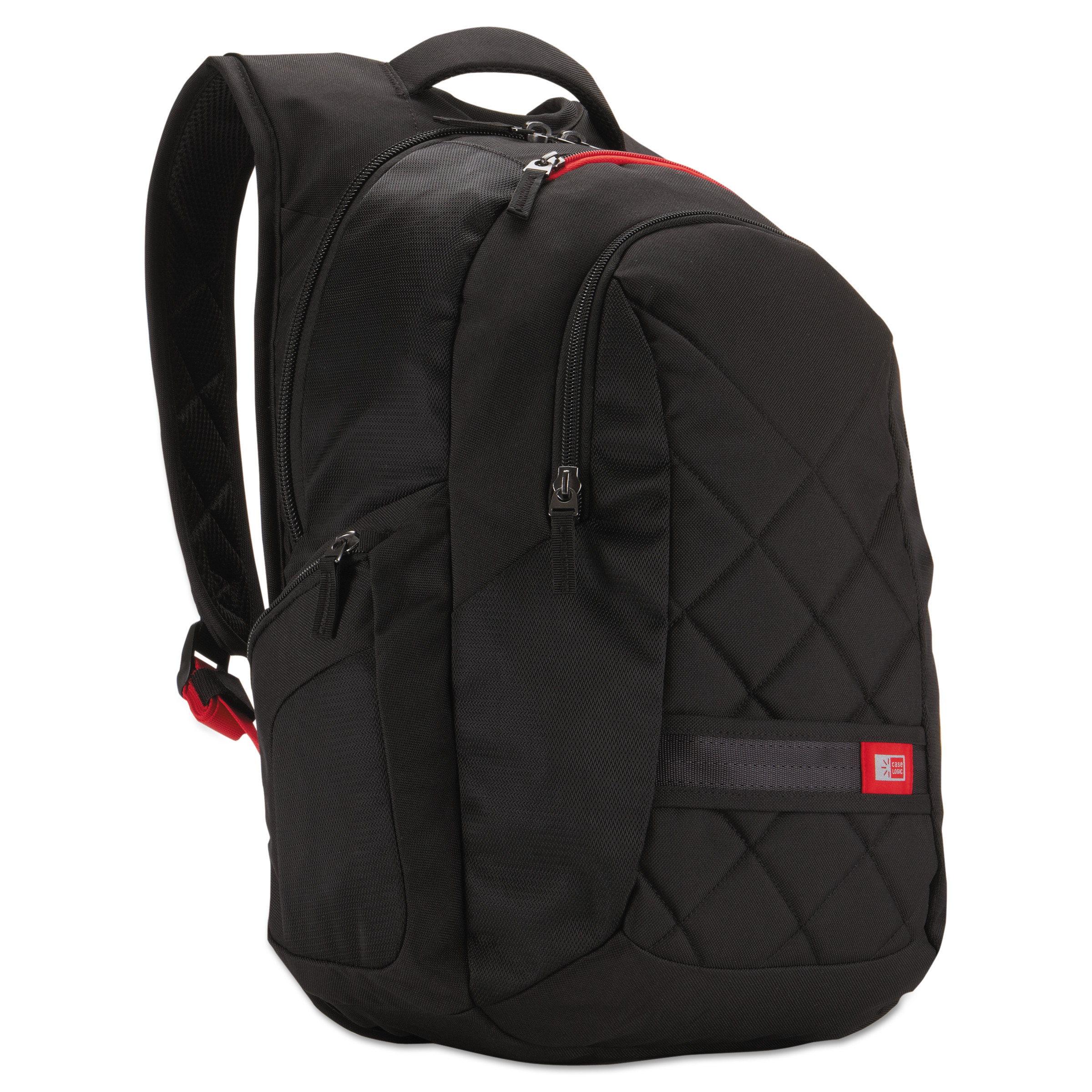 "Case Logic 16"" Laptop Backpack, 9 1/2 x 14 x 16 3/4, Black"
