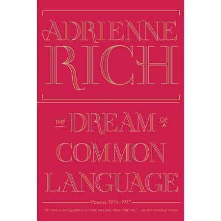 The Dream of a Common Language: Poems 1974-1977 - eBook](Halloween Figurative Language Poems)