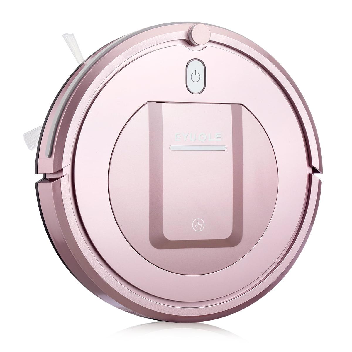 Eyugle Robot Vacuum Cleaner Carpet Wood Floor Sweeping Machine Pink