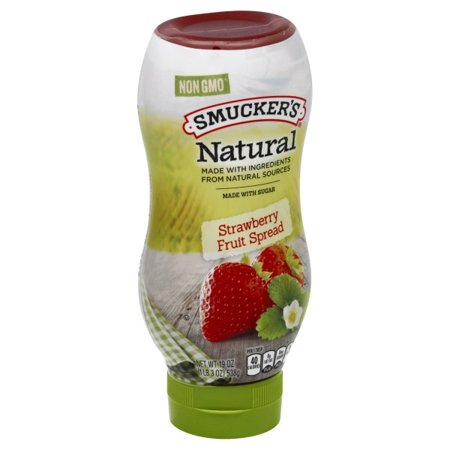Smucker's Natural Strawberry Fruit Spread, 19-Ounce