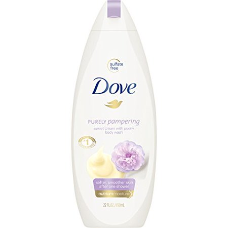 Dove Purely Pampering Body Wash, Sweet Cream and Peony 22 oz - image 1 of 1