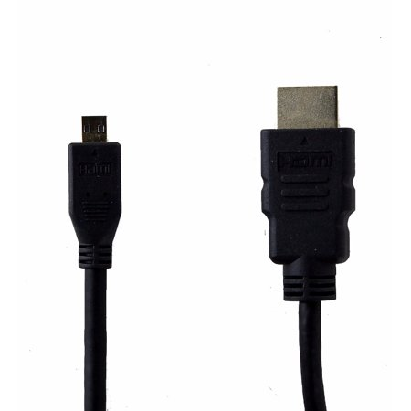 - Micro HDMI High Speed Cable ETHERNET E321484 AWM Style 20276 30V VW-1 APBG 4 Ft. (Refurbished)