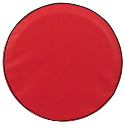 Tire Cover by Holland Bar Stool - Plain Red, 35'' x 12.5''
