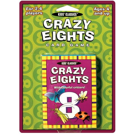 Kids Classics: Crazy Eights Card Game (Other) ()