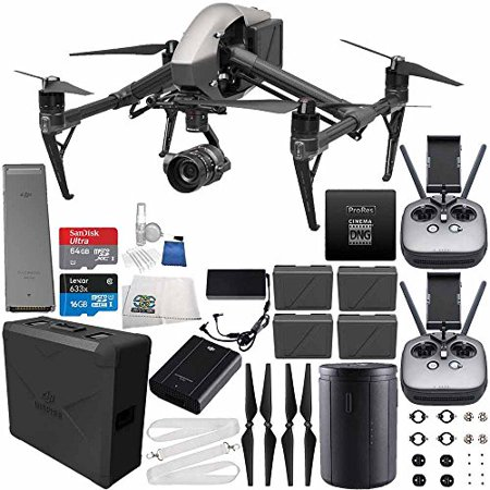 DJI Inspire 2 Premium Combo with Zenmuse X5S and CinemaDNG and Apple ProRes Licenses Cinematographer 480G PRO Ultimate Bundle