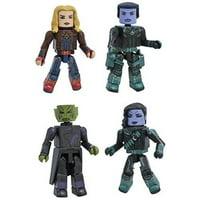 Marvel Captain Marvel Movie Minimates Box Set
