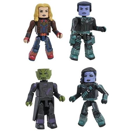 Marvel Captain Marvel Movie Minimates Box Set