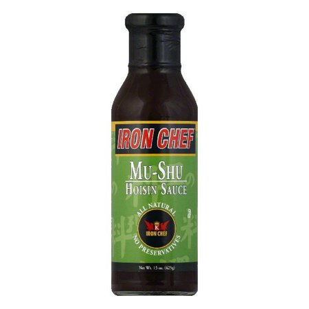 Iron Chef Sauce (Iron Chef Mushroom Hoisin Sauce, 15 OZ (Pack of 6))
