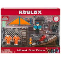 Roblox Mix & Match Jailbreak: Great Escape Figure 4-Pack Set