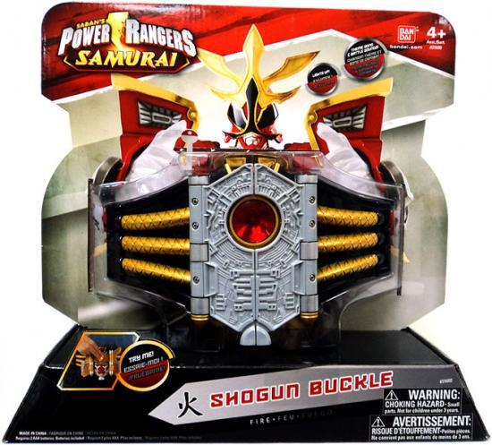 Power Rangers Battle Gear Shogun Buckle