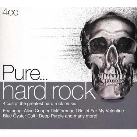Pure Hard Rock / Various (CD)](Halloween Hard Rock Songs)