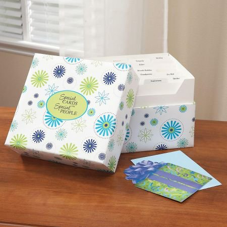 Floral greeting card organizer box walmart floral greeting card organizer box m4hsunfo