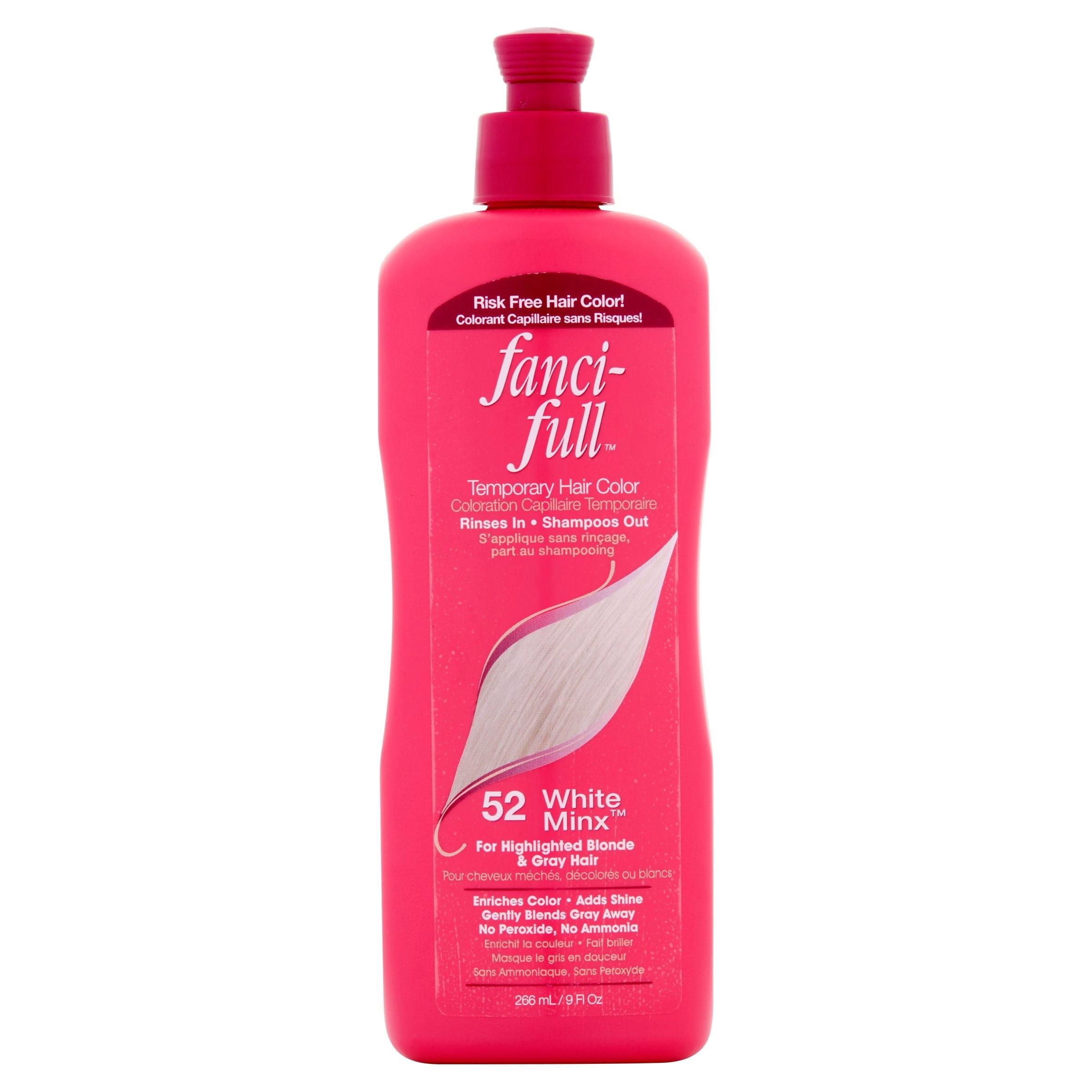 Fanci Full 52 White Minx Temporary Hair Color 9 Fl Oz Walmart