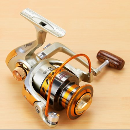 【LNCDIS】EF500-EF9000 Spinning Fishing Reel 12BB Metal Spool Folding Arm Left Right 5.2:1 thumbnail