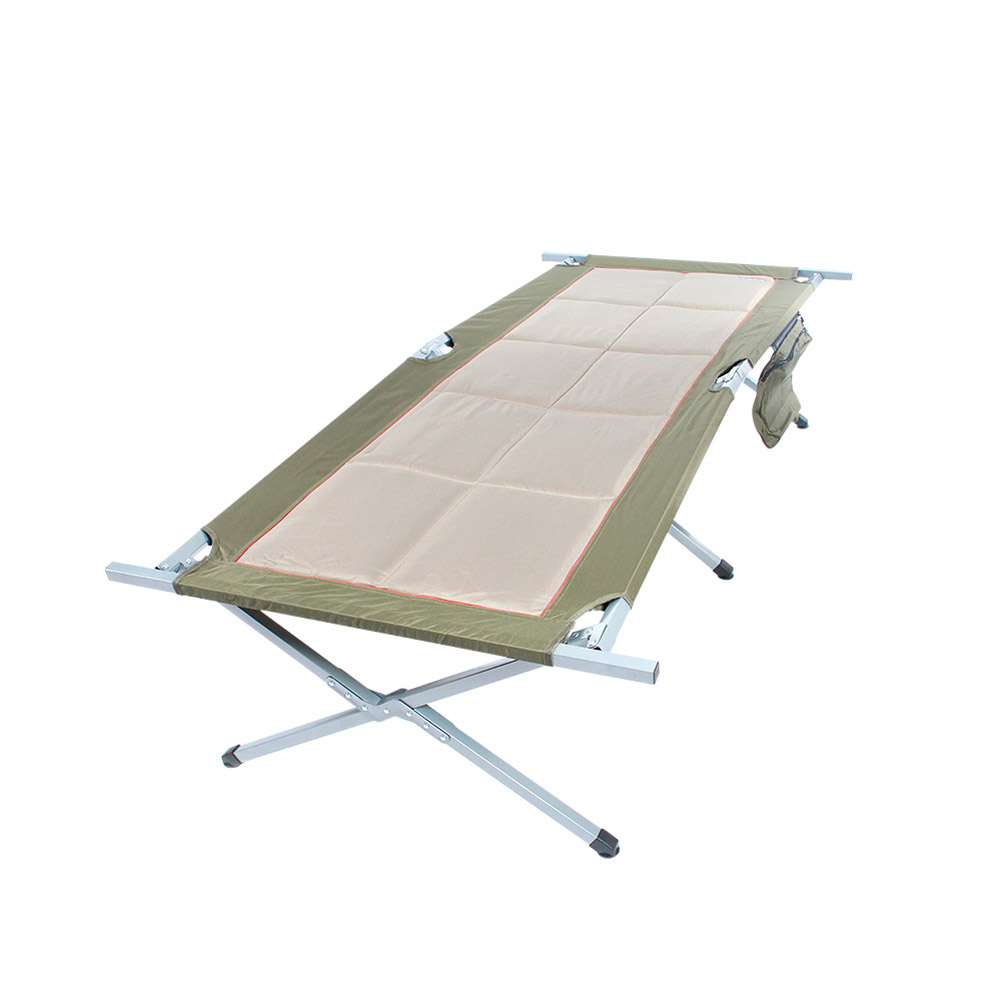 Bushtec Adventure Sierra Oversized Canvas Camp Bed, Cot for camping or outfitter. by Supplier Generic