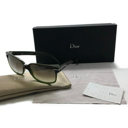 Christian Dior Black Tie 111s Mjijs Plum Green 55 Sunglasses