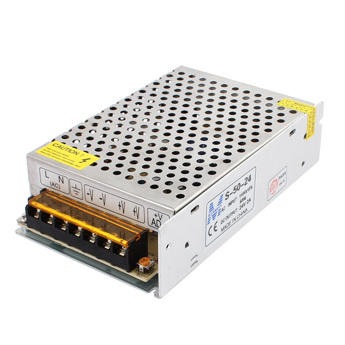 110/220V 24V 2A 48W Switching Power Supply Adapter Driver for