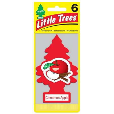 LITTLE TREES air freshener Cinnamon Apple 3-Pack