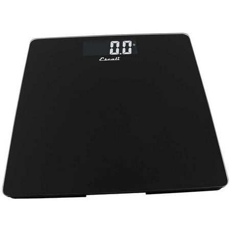 - Escali Glass Platform Bathroom Scale Silver