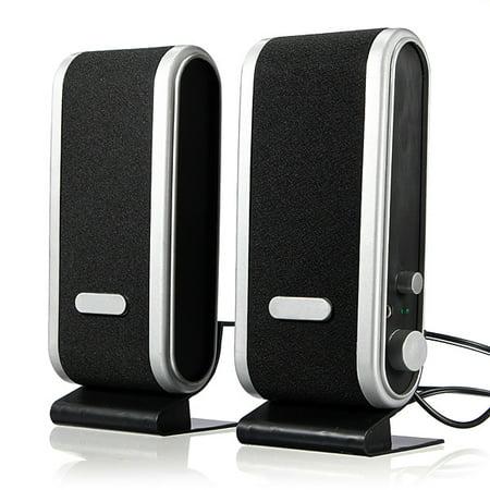 120w 2 Way Stereo (120W 3.5mm USB Power Stereo Audio Speaker Earphone Jack For Laptop Computer PC Loudspeaker 35mmspeaker)