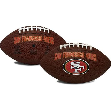 Rawlings NFL Official Size Game Time Football, San Francisco 49ers Autographed Official Nfl Game Football