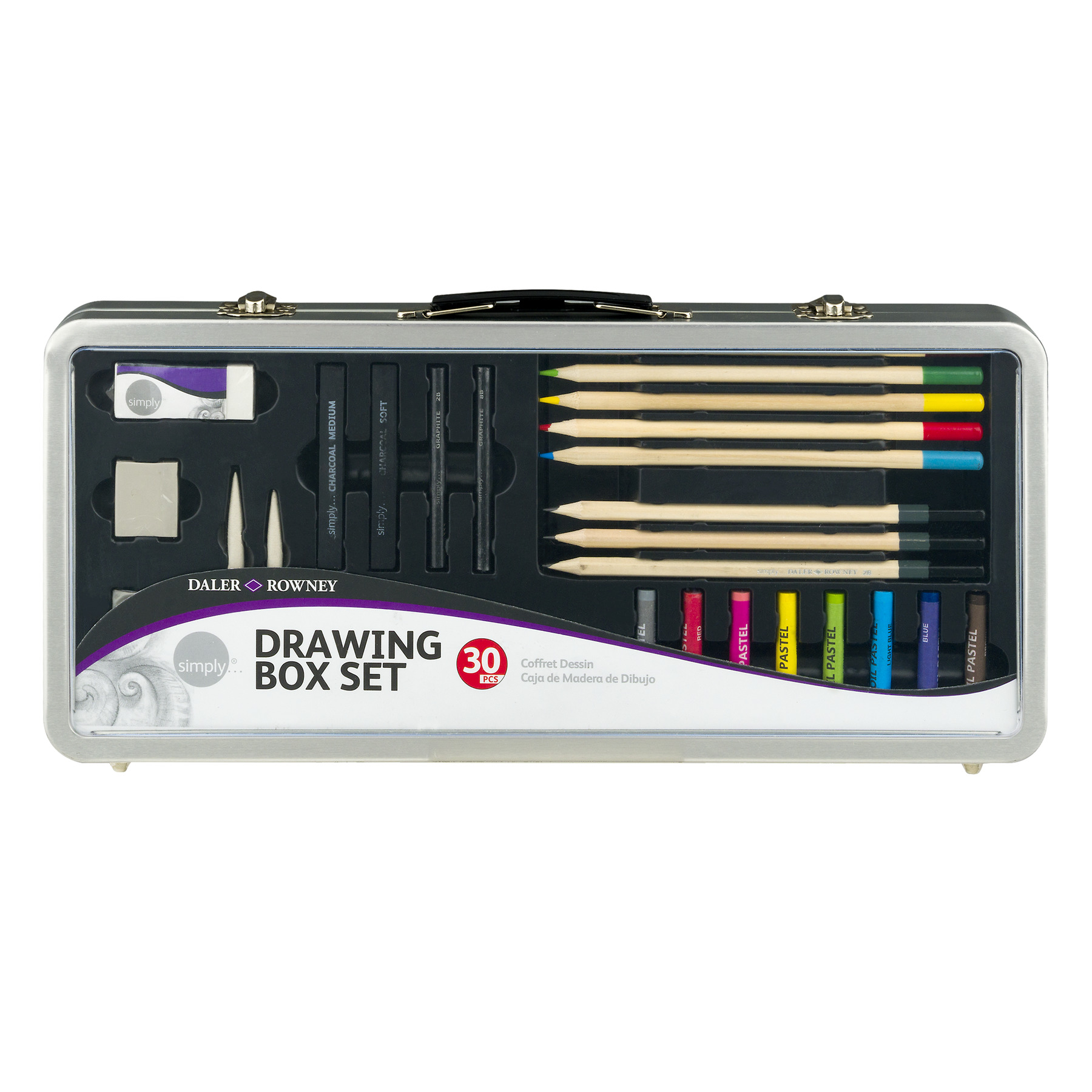 Daler - Rowney Simply Drawing Box Set - 30 PC, 30.0 PIECE(S)