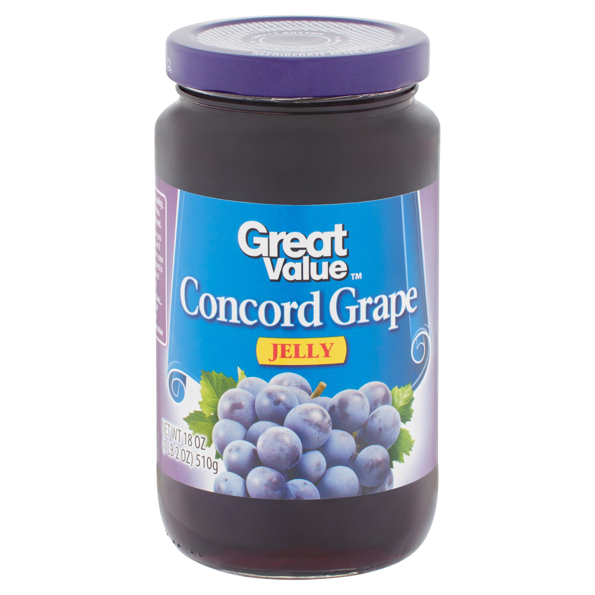 aea810830968 Great Value Concord Grape Jelly, 18 oz