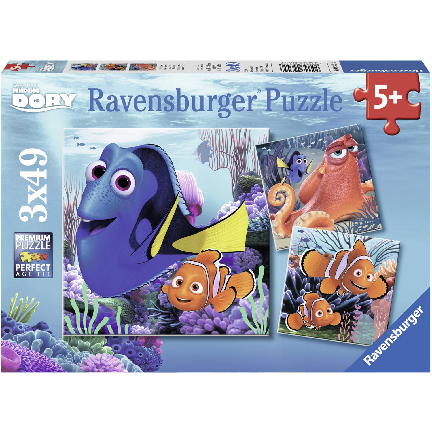 Ravensburger Disney Finding Dory Set of 3 Puzzles in a Box