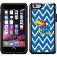 University of Kansas Sketchy Chevron Design on OtterBox Symmetry Series Case for Apple iPhone 6