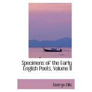Specimens of the Early English Poets, Volume II