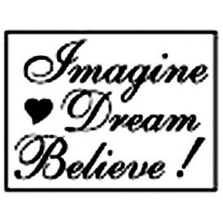 Alvin MSH7272RIDB Image Dream Believe Decorative Wax Resin Seal
