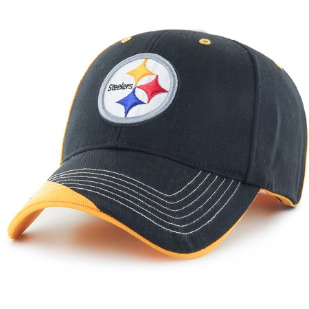 NFL Pittsburgh Steelers Mass Hubris Cap - Fan Favorite (Caps Team Money Gold)