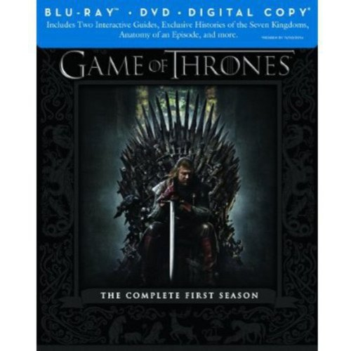 Game Of Thrones: The Complete First Season (Blu-ray + DVD + Digital Copy) (HBO Select) (Widescreen)