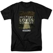 Warehouse 13 Mystery Loves Mens Short Sleeve Shirt