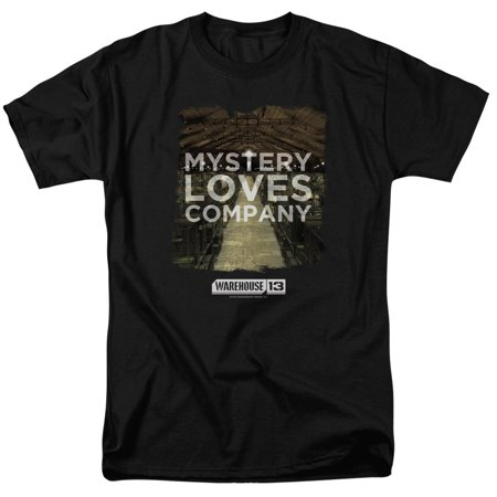 Warehouse 13 Mystery Loves Mens Short Sleeve Shirt