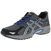ASICS Men's Gel Venture 5 Running Shoe, Silver/Light Grey/Royal, 12 M US
