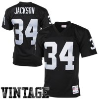 3f672a135 Product Image Mens Oakland Raiders Bo Jackson Mitchell   Ness Black 1988 Retired  Player Vintage Replica Jersey