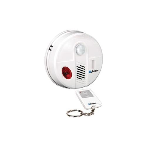 Swann SWANN SW351-CAC Complete, Stand-Alone Ceiling-Mount Intrusion Alarm Kit with Remote SCUSW351CAC