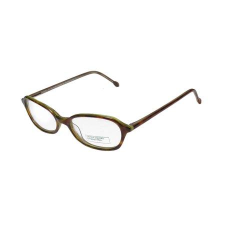 44d9c07dce7 New United Colors Of Benetton 348 Womens Ladies Designer Full-Rim Tortoise  Mint Simple   Elegant Trendy Frame Demo Lenses 47-16-135 Eyeglasses  Spectacles