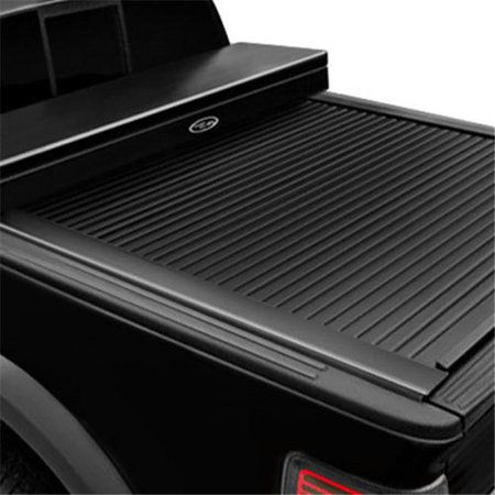 81 in. American Work Tool Box Full Size Tonneau Cover for 2008-2016 Ford F250 & 350 Short Bed, Black