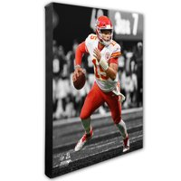 Patrick Mahomes Kansas City Chiefs 16'' x 20'' Canvas - No Size