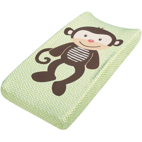 Summer Infant Plush Pals Changing Pad Cover, Monkey